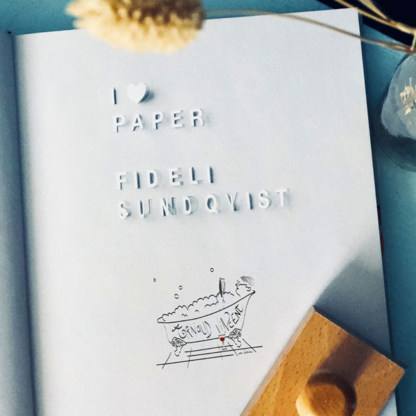 Ex-libris sur-mesure - Flamant Jaune Paris - Papeterie de maison - Sur-mesure